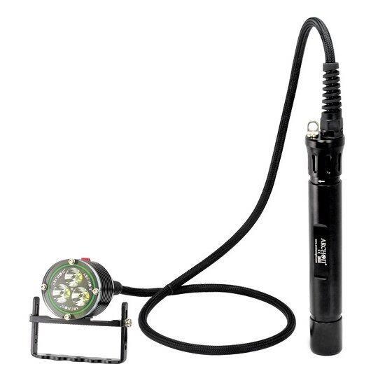 ARCHON DH30 WH36 3000LM Cree XM-L U2 Canister Diving Headlight Flashlight Waterproof Headlamp - INTL