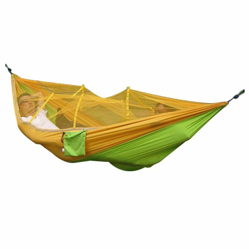AUTO Portable Outdoor Hammock with Mosquito Net - intl