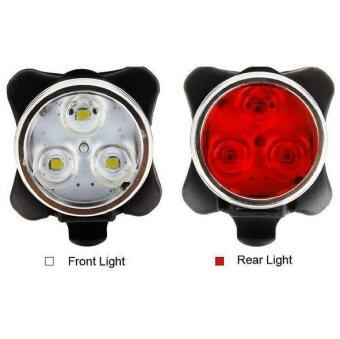 Bicycle Lights Drive Auto Rear Bike Rear Taillight Red LED 20 Lumen Auto On/Off (Intl)