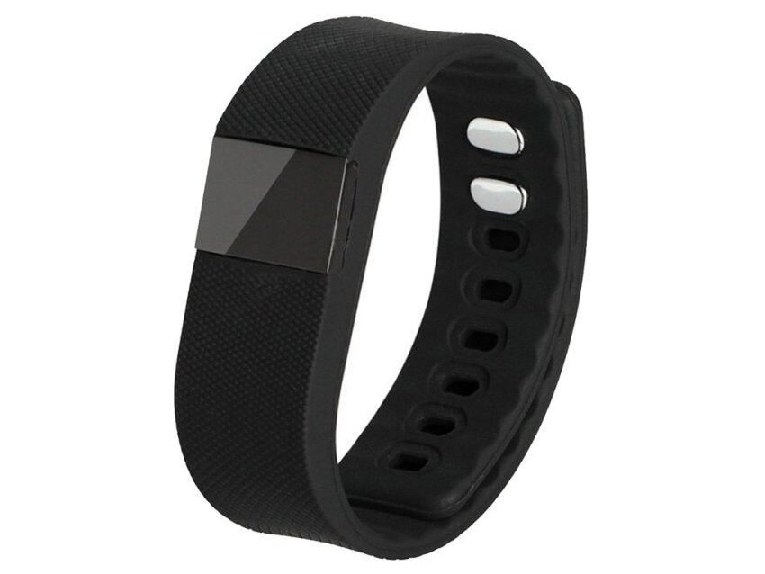 แนะนำ Bluetooth 4.0 Health Smart Watch Bracelet Wristband For Smart PhoneBlack ลดราคา