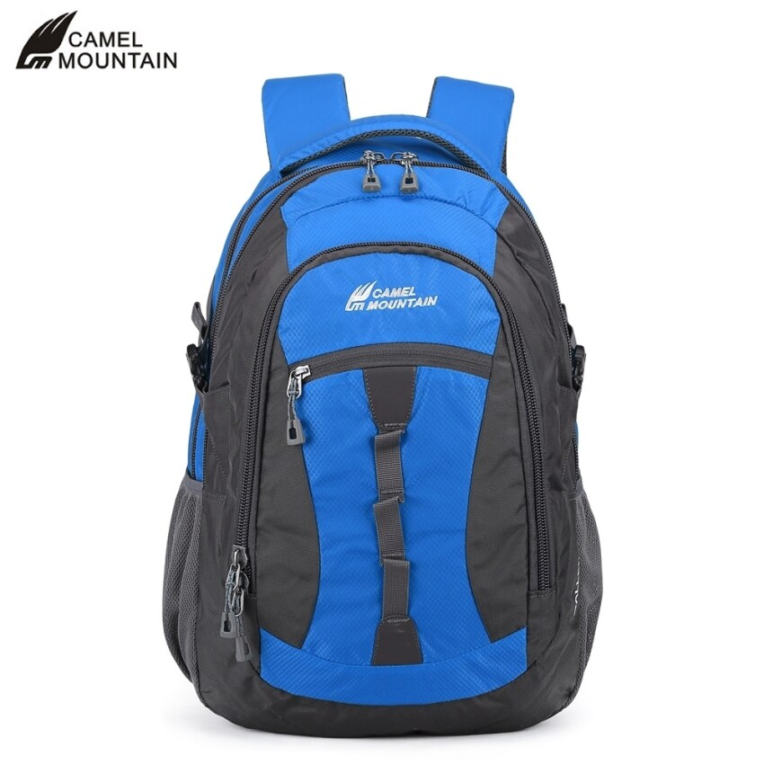 CAMEL MOUNTAIN CM661 - 2 35L Water Resistant Backpack Portable Outdoor Climbing Cycling Camping Bag - intl