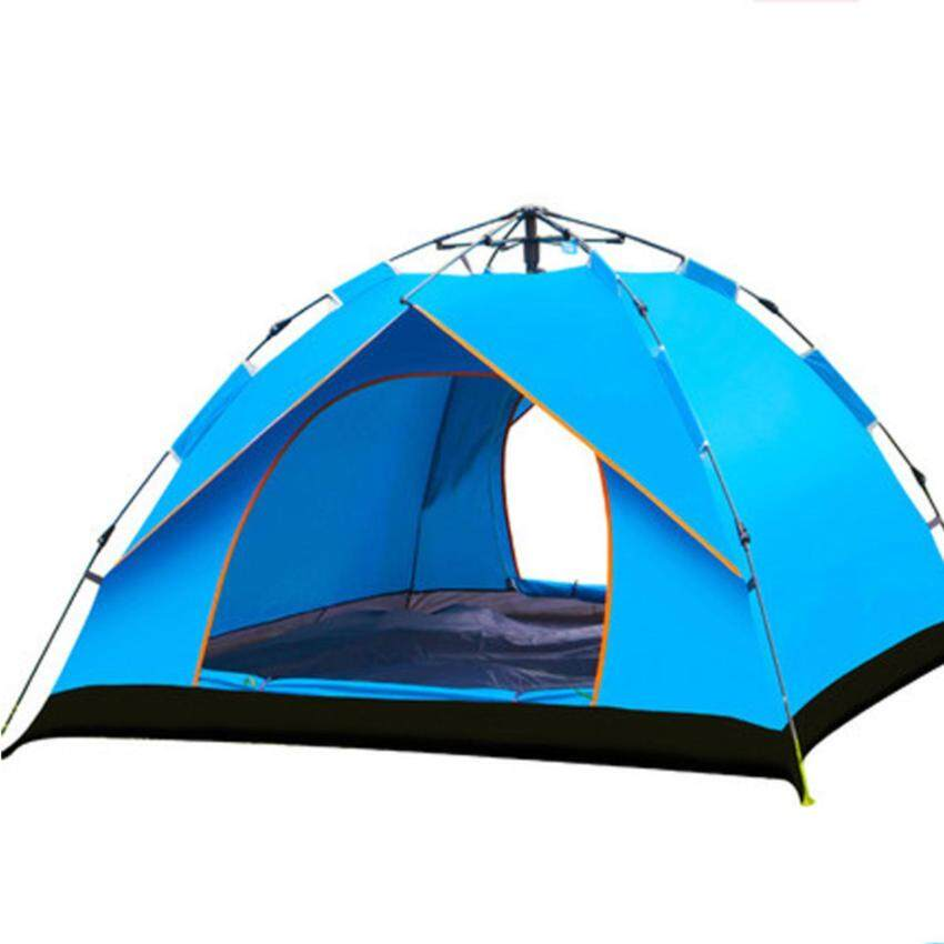 Cheap Camping Tents for Sales Two Peoples Blue - intl