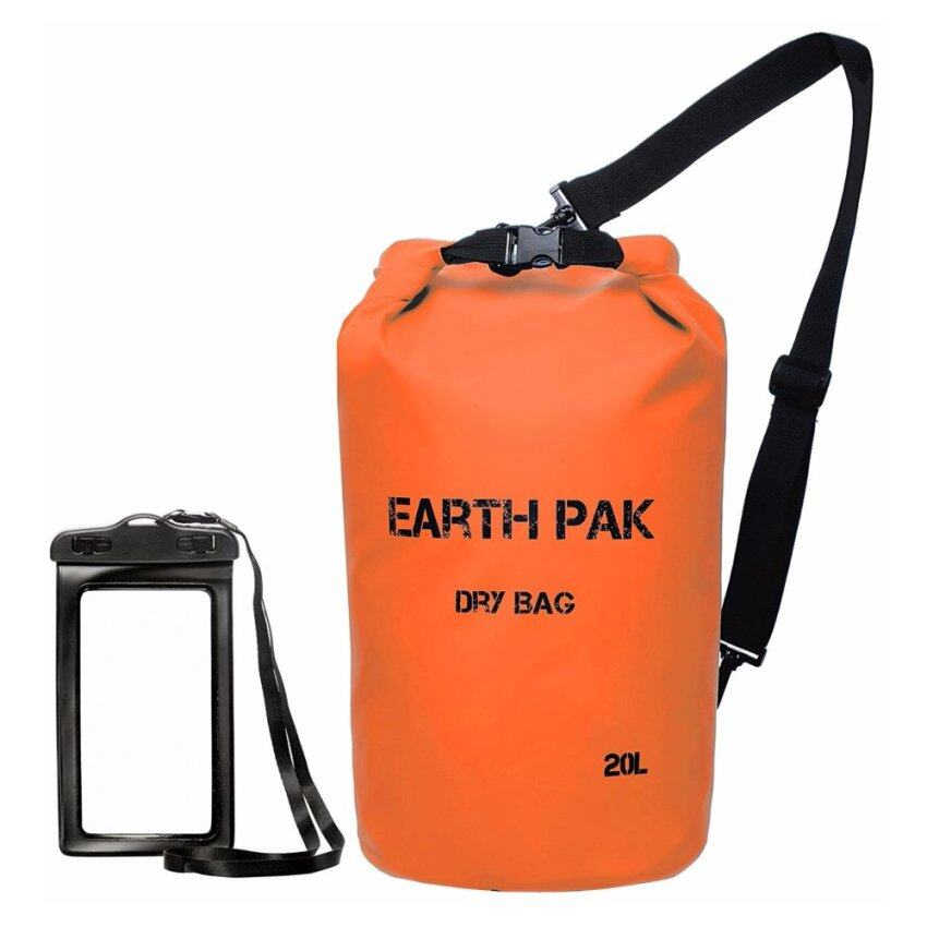 Earth Pak -Waterproof Dry Bag(20L) - Roll Top Dry Compression Sack Keeps