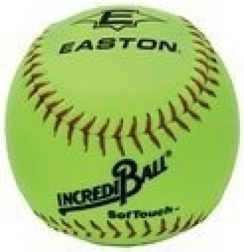 Easton Incrediball SofTouch 25.4cm Softball, Yellow - intl