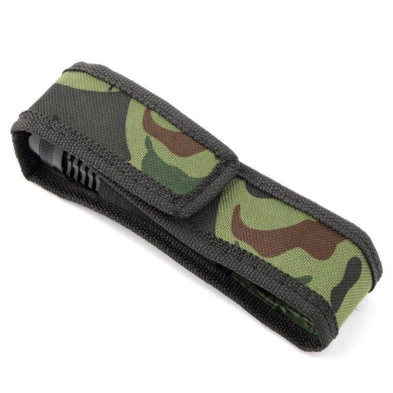 Flashlight Case Bag Camouflage Holster Protector for Lamp - intl
