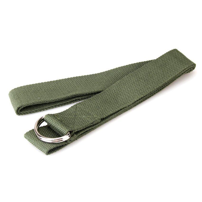 FLY 6Ft Yoga Stretch Strap Training Belt Waist Leg Fitnessexerciseworkout - intl ...