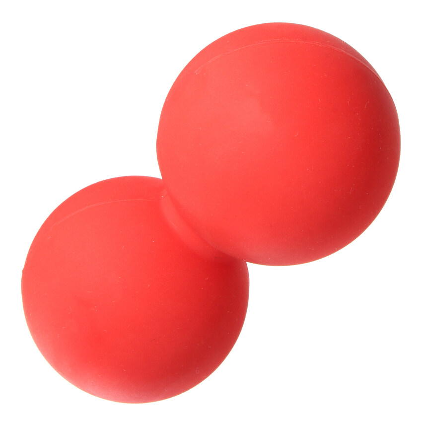FLY Double Lacrosse Ball Mobility Myofascial Trigger Point Releasemassage Exercise Red - ...