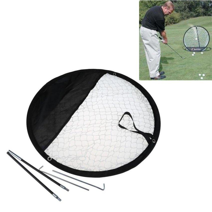 Folding Golf Pop up Chipping Pitching Practice Net Indoor or Outdoor use NEW - intl ...