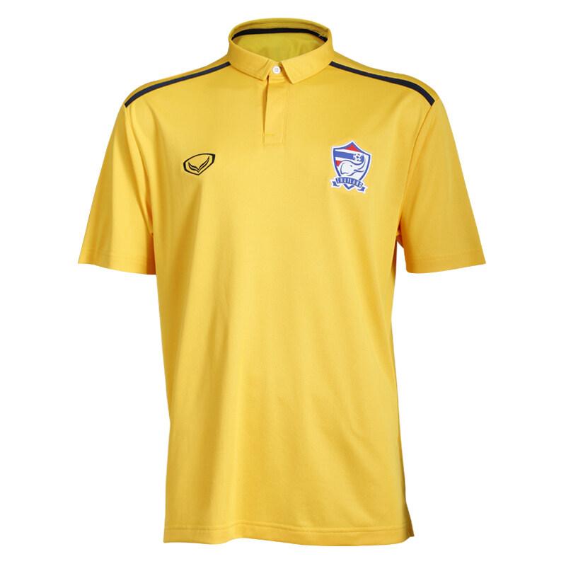 Grand sport เสื้อคอปกทีมชาติไทย 2016 (สีเหลือง)