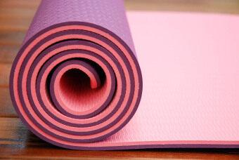 Sappaya Yoga Mat เสื่อโยคะ 2 Layers หนา 6 mm - สีม่วง. >>>>