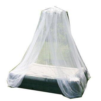 Inhouse มุ้งเดินป่า พร้อมถุงลายพราน - สีขาว