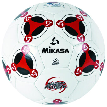 MIKASA ฟุตซอล Futsal รุ่น MKS TPU FSC64 - White/Red