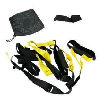 เชือกออกกำลังกาย สร้างกล้ามเนื้อโดยใช้แรงต้านจากร่างกายทุกส่วน สีดำ/เหลือง