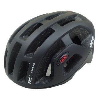 Morning หมวกจักรยาน รุ่น POC-580 - สีดำด้าน