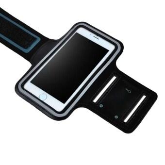 2beSport สายรัดแขน ออกกำลังกาย armband case สำหรับ มือถือ iPhone 6plus /6Splus (สีดำ) (image 2)