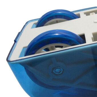 HHsociety เครื่องออกกำลังกายลดหน้าท้อง Roller Slide Ab Slide - Blue (image 4)