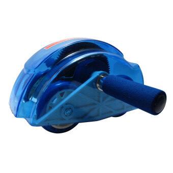 HHsociety เครื่องออกกำลังกายลดหน้าท้อง Roller Slide Ab Slide - Blue (image 2)