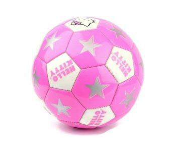 Hello Kitty ลูกฟุตบอล Soccer Ball (Size 4) - Pink