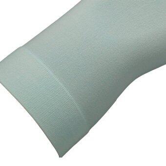 AQUA-x ปลอกแขนกันแดด กันยูวี จากเกาหลี (สีมินท์) - free size (image 2)