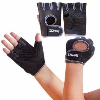 AOLIKES ถุงมือฟิตเนส Fitness Glove Weight Lifting Gloves Int:S image