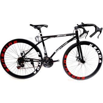 EXPERT GROUP จักรยานเสือหมอบ ล้อ 700C 21 SPEEDS รุ่น MTB - 111 ( สีดำ ) (image 0)