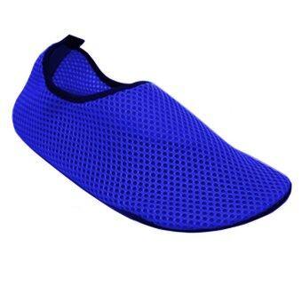 Aqua Water Sports Socks Skin Shoes Blue