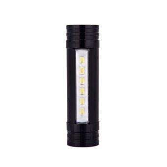 Thaibike Portable Mini 6 LED Flashlight 2000mAh Power Bank 1000LM 4-Modes Torch Headlamp