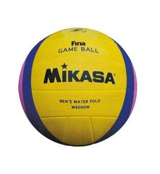 MIKASA โปโลน้ำ Water Polo Ball รุ่น MKS RB W6000W FINA ใช้ในการแข่งขัน ซีเกมส์ 2015
