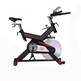 360 Ongsa Fitness จักรยานนั่งปั่น SPIN BIKE S-760 สีดำ/แดง 20 KG. image