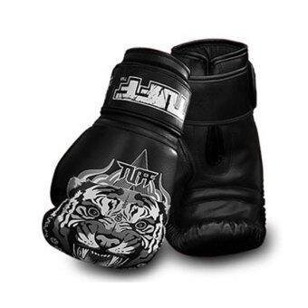 Tuff MuayThai Gloves Tiger Black