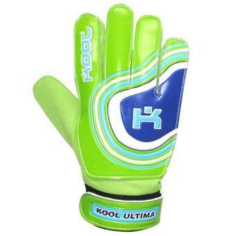 KOOL PRO ถุงมือโกล์ว ฟุตบอล Football Gloves keeper Ultima (Green)