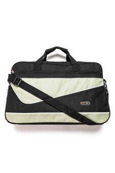 DM กระเป๋า Co-opt Travel Bag (สีดำ/น้ำตาล)