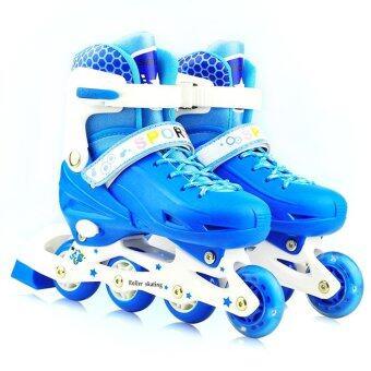 รองเท้าสเก็ต รุ่น Let's cool ไซด์ 34-37M (สีน้ำเงิน)