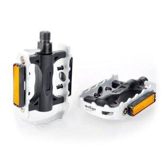 WELLGO-LU-C25 MTB BMX Pedals Aluminum Bicycle Pedals Mountain Cycling Pedal (Multicolor)