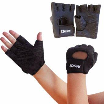 AOLIKES ถุงมือฟิตเนส Fitness Glove Weight Lifting Gloves Int:M image