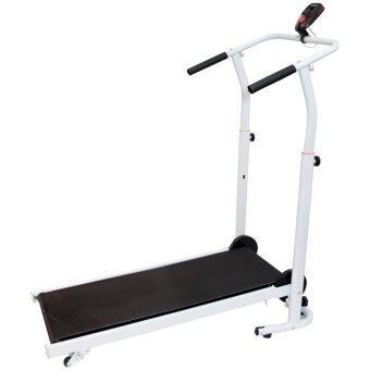 Van Burgh ลู่วิ่ง ออกกำลังกาย พับเก็บได้ Manual Mini Treadmill