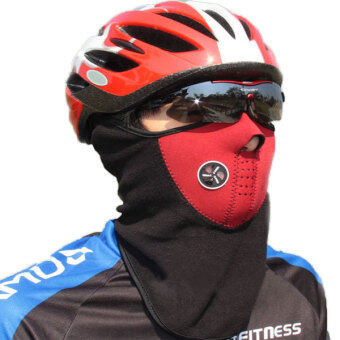 360DSC Bicycle Riding Face Mask Neck Warmer Wind Protection Mask for Outdoor Sports in Winter - Red (image 1)