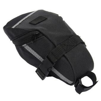 Elit กระเป๋าใต้จักรยาน ใต้อาน กระเป๋าใส่ของ จักรยานเสือภูเขา Bike Bag Back Seat Tail (Black) (image 1)