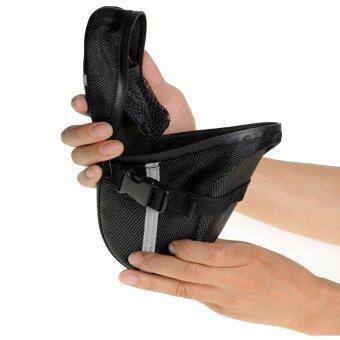 Elit กระเป๋าใต้จักรยาน ใต้อาน กระเป๋าใส่ของ จักรยานเสือภูเขา Bike Bag Back Seat Tail (Black) (image 4)