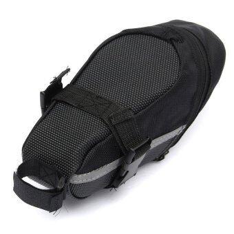 Elit กระเป๋าใต้จักรยาน ใต้อาน กระเป๋าใส่ของ จักรยานเสือภูเขา Bike Bag Back Seat Tail (Black) (image 2)