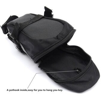 Elit กระเป๋าใต้จักรยาน ใต้อาน กระเป๋าใส่ของ จักรยานเสือภูเขา Bike Bag Back Seat Tail (Black) (image 3)