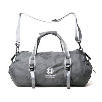 Sport Bag ประเป๋ากีฬา PENTAGRAM กระเป๋าออกกำลังกาย กระเป๋าใส่อุปกรณ์ออกกำลังกาย กันน้ำ 40L รุ่น Z302 (สีเทา)