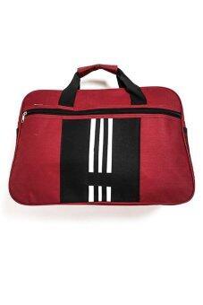 DM กระเป๋า TLSport - สีดำ/เลือดหมู