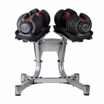 360 Ongsa Fitness 52.5lbs. ADJUSTABLE BUMBBELL SET ชุดดัมเบลปรับน้ำหนักได้ 52.5 ปอนด์ (ฟรี DUMBBELL RACK ขาตั้งดัมเบล)