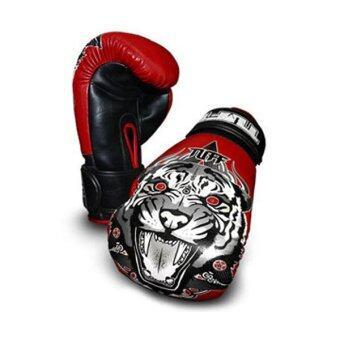 Tuff MuayThai Gloves Tiger Red