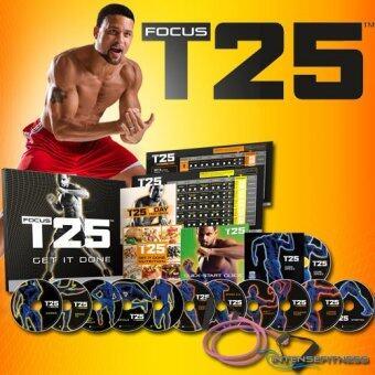T25 FOCUS เป็นในบ้านของการออกกำลังกายที่ได้รับการออกแบบเพื่อให้ผลลัพธ์ชั่วโมงในเวลาเพียง 25
