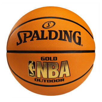 Spalding ลูกบาส NBA Gold outdoor แถมฟรี ที่สูบลม Spalding มูลค่า 150 บาท
