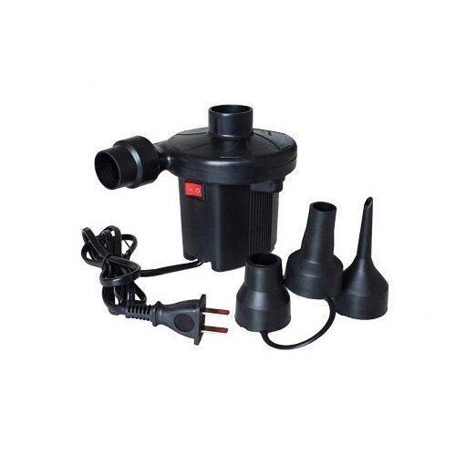 Intex ที่สูบลมไฟฟ้า Intex พร้อมหัวสูบ 3 ขนาด รุ่น PA001 - Black
