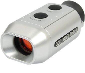 ITandHome กล้องวัดระยะสำหรับกอล์ฟ กล้องส่องกอล์ฟ (สีเทา)