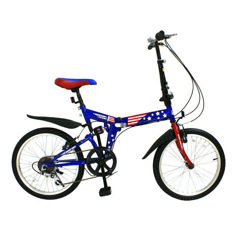 จักรยานK-BIKE จักรยานพับได้ลายธงชาติอเมริกา 20